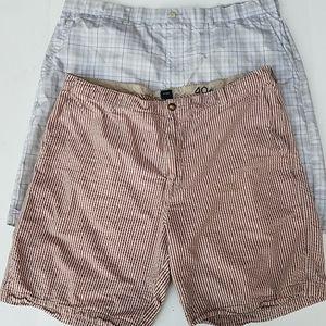 Saltwater/Ben Hogan mens shorts lot of 2 size 40
